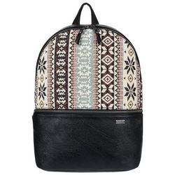 Roxy Juniors Tribal Print Faux Leather Backpack