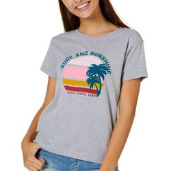 Roxy Juniors Surf & Sunshine T-Shirt