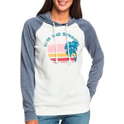 Roxy Juniors Surf And Sunshine Long Sleeve Hoodie