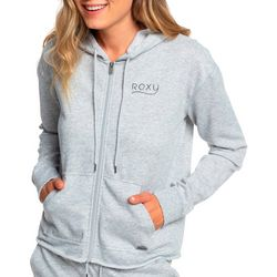Roxy Juniors Moon Rising Zippered Long Sleeve Hoodie