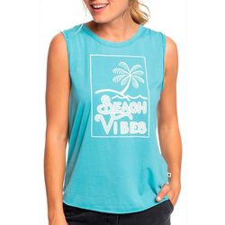 Roxy Juniors Beach Vibes Tank Top