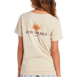 Juniors Sun Golden T-Shirt