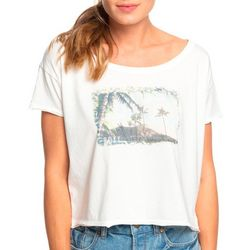 Roxy Juniors Island Girl Screen Print T-Shirt