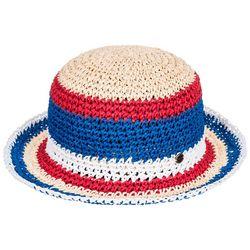 Roxy Womens Americana Straw Beach Bucket Hat