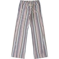 Juniors Oceanside Striped Wide Leg Pants