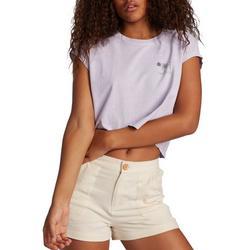 Juniors Surfer Crop T-Shirt