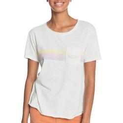 Juniors Surfer Stripe Line T-Shirt