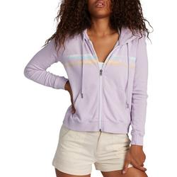 Juniors Zip Up Lilac Hoodie Jacket