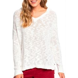 Roxy Juniors Lovely Soul Solid Hooded Poncho Top