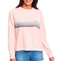 Roxy Juniors Long Sleeve Want To Dance Sweatshirt