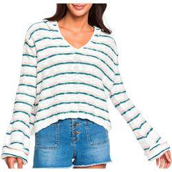 Juniors Long Sleeve Sun Express Hooded Sweater