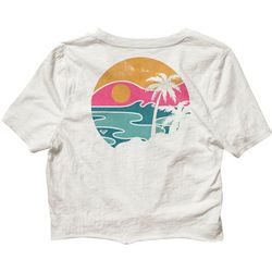 Roxy Juniors Tie Front T-Shirt