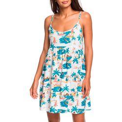 Juniors Tropical Sundance Dress