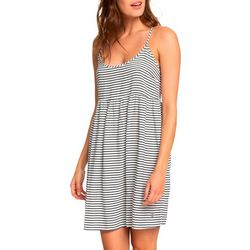 Roxy Juniors Striped Sundance Strappy Sleeveless Dress