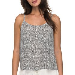 Roxy Juniors Sunday Casual Polka Dot Tank Top