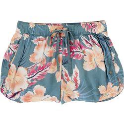 Roxy Juniors Reuare Tropical Shorts