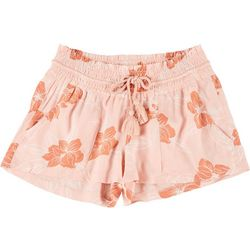 Roxy Juniors Oceanside Floral Print Shorts