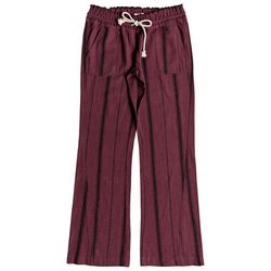 Roxy Juniors Oceanside Stripe Linen Flare Pants