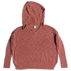 Roxy Juniors Sandy Bay Beach Knitted Hooded Poncho