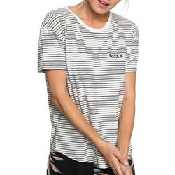 Roxy Juniors Passion Cocktail Striped T-Shirt