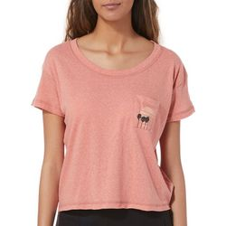 Roxy Juniors Sea Sun Cropped T-Shirt