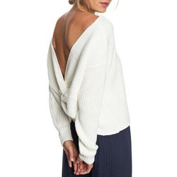 Roxy Juniors Bridge Bamboo Low Back Sweater