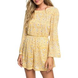 Roxy Juniors Beach Chiller Long Sleeve Romper
