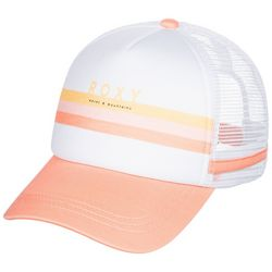 Roxy Juniors Striped Trucker Hat