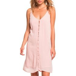 Roxy Juniors Siren Treasure Strappy Buttoned Dress