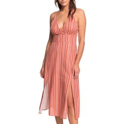 Roxy Juniors Young Goddess Strappy Maxi Dress