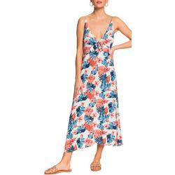 Juniors Close To Sea Strappy Midi Dress