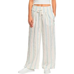 Roxy Juniors Little Loving Wide Leg Beach Pants