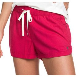 Roxy Juniors New Impossible Love Solid Beach Shorts