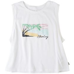 Hurley Juniors Box Beach Print Tank