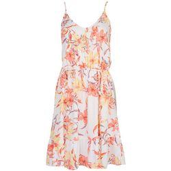 Hurley Juniors Pastel Print Sleevless Dress