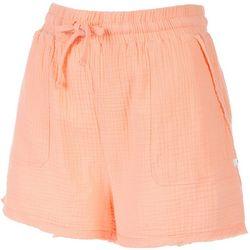 Hurley Juniors Solid Beach Linen Shorts