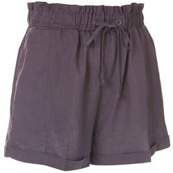 Hurley Juniors Solid Bronte Beach Linen Shorts