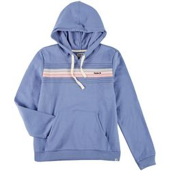 Hurley Juniors Striped Nala Hooded Sweatshirt