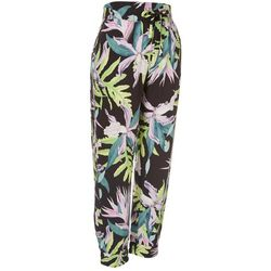 Hurley Juniors Floral Soft Pull On Elastic Pants