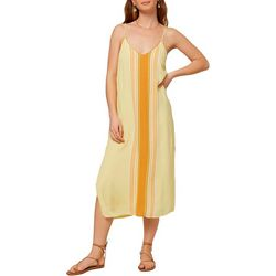 O'Neill Juniors Avana Stripe Midi Dress