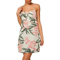 O'Neill Juniors Naila Tropical Floral Tank Dress