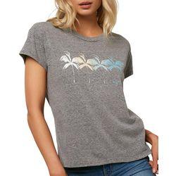 O'Neill Juniors Broadway Palm Tree Graphic T-Shirt