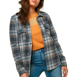 Juniors Zuma Superfleece Flannel Top