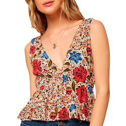 O'Neill Juniors Virginia Floral Top