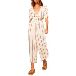 O'Neill Juniors Sincerely Stripe Jumpsuit