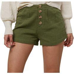 Juniors Henley Shorts