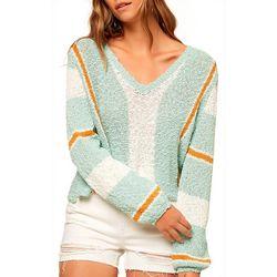 Juniors Shore Pullover Sweater