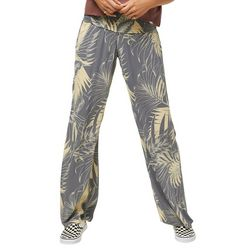 O'Neill Juniors Johnny Palm Print Pull-On Pants