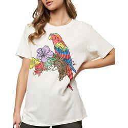O'Neill Juniors Parrot Tropical Short Sleeve
