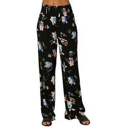 O Neill Juniors Floral Flowy Pants